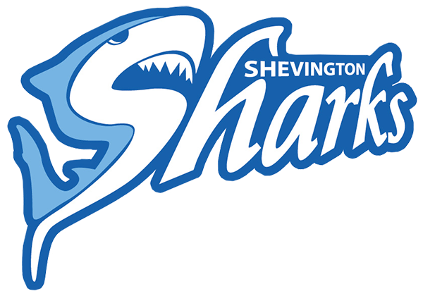 Shevington Sharks Retina Logo