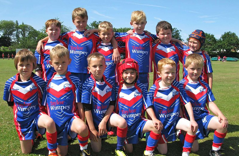 Shevington Sharks Under 9s Team