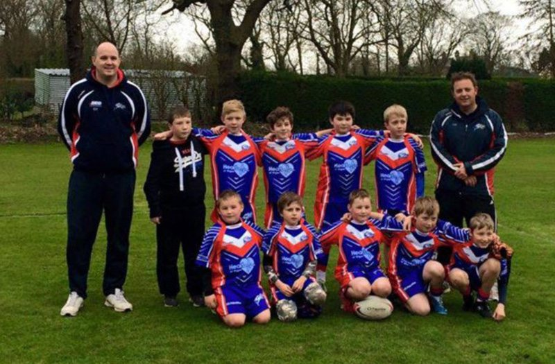 Shevington Sharks Under 10s Team