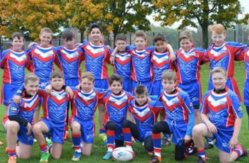 Shevington Sharks Under 12s Team